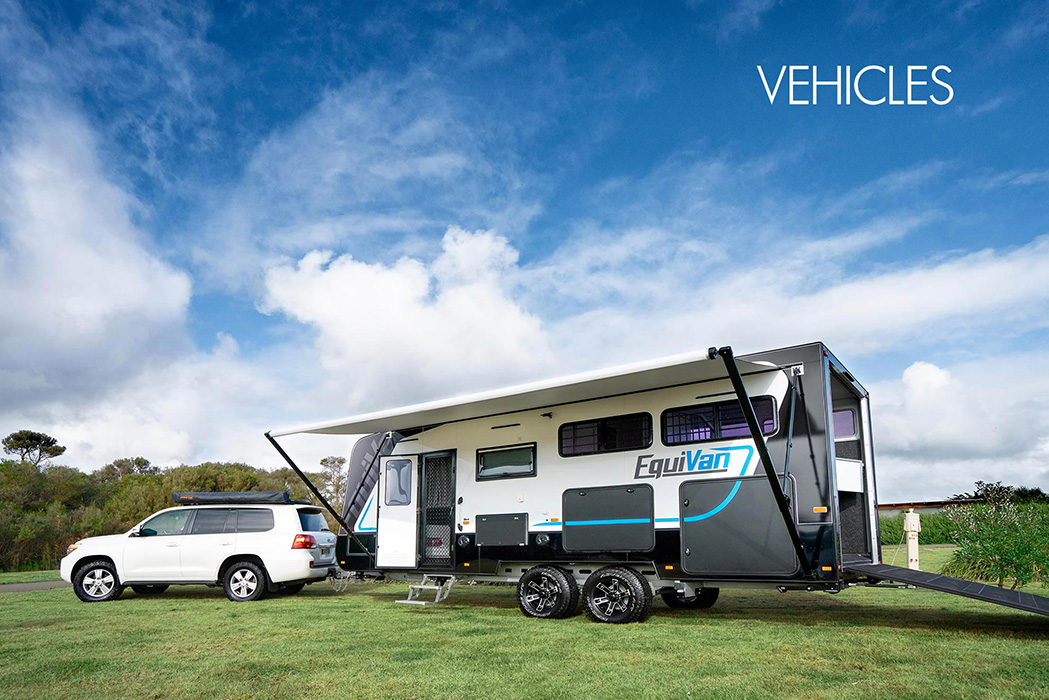 Vehicles, Camper, Horse Trailer